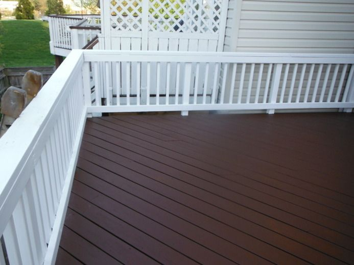 Brown Decks Staining Deck Deck Colors Deck Paint