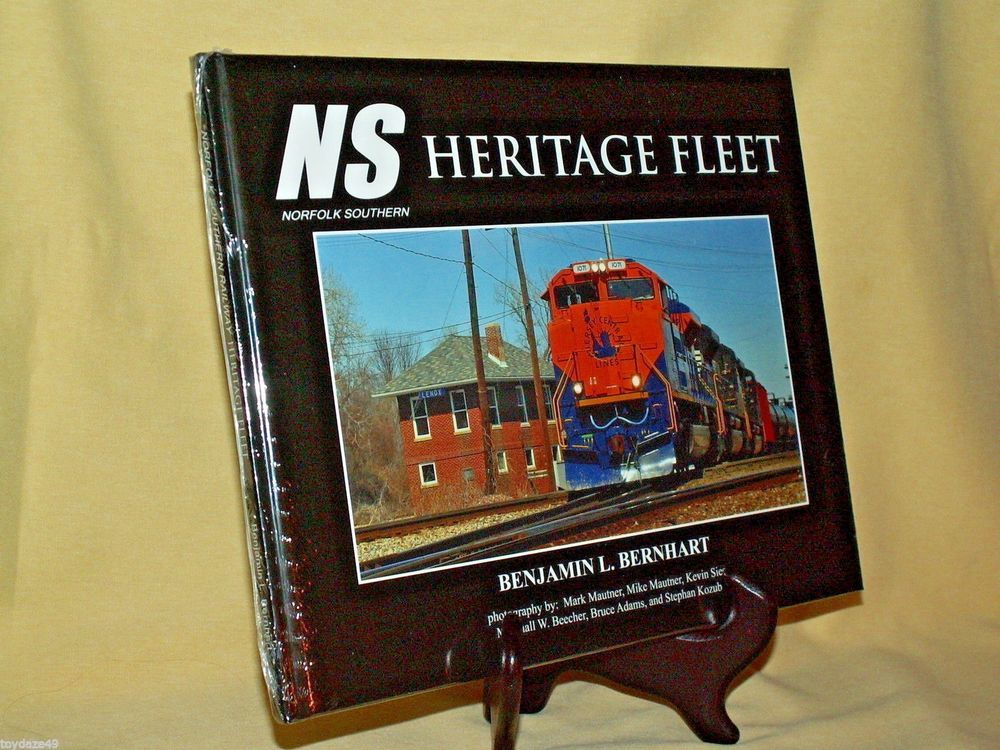 Norfolk Southern Heritage Fleet by Benjamin Bernhart Sealed NS Railway Illustrtd