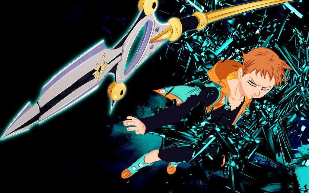 Nanatsu No Taizai Wallpaper King By Stellathecat12 In 2020 Anime Seven Deadly Sins Seven Deadly Sins Anime