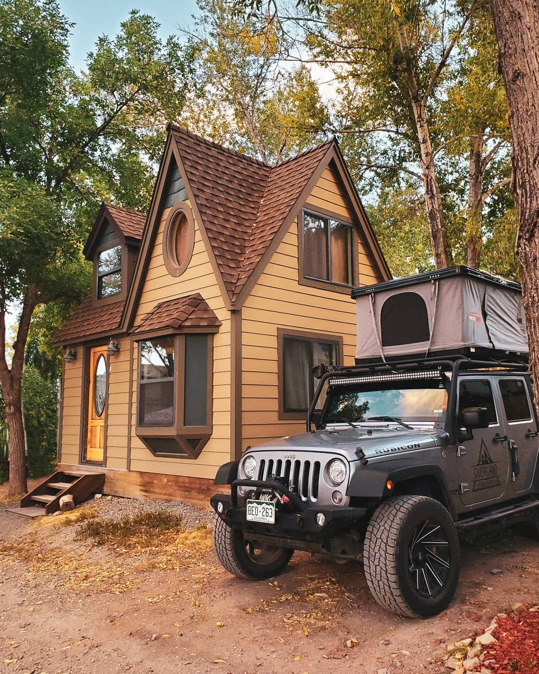 When In Colorado Some Of The Best Adventures Involve Cabins And Jeeps This Amazing Fully Out Simple Woodworking Plans Woodworking Woodworking Projects Diy