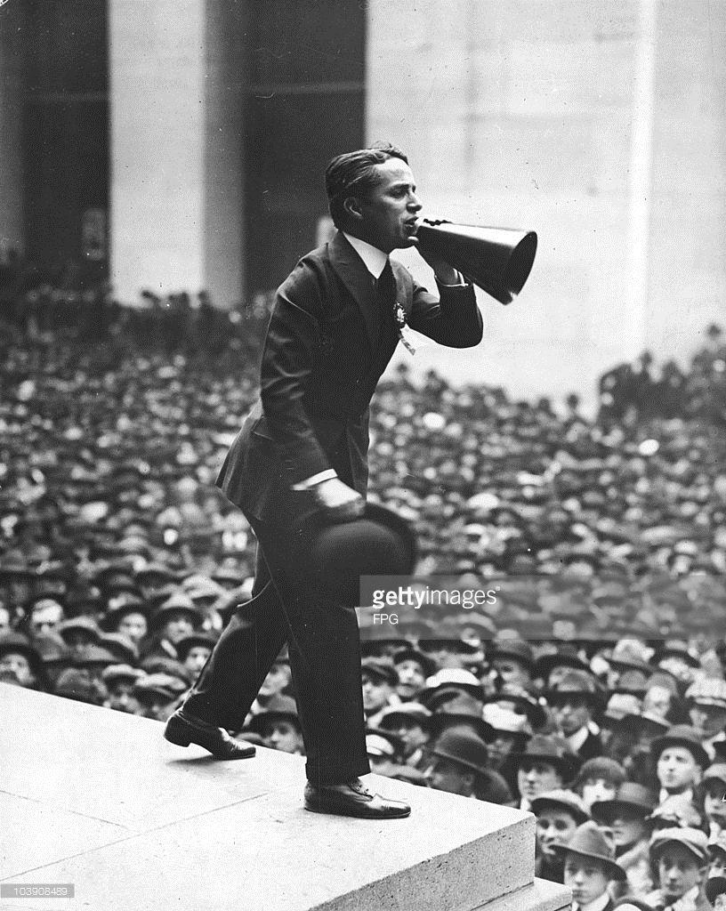 Mr. Chaplin on his liberty bond tour