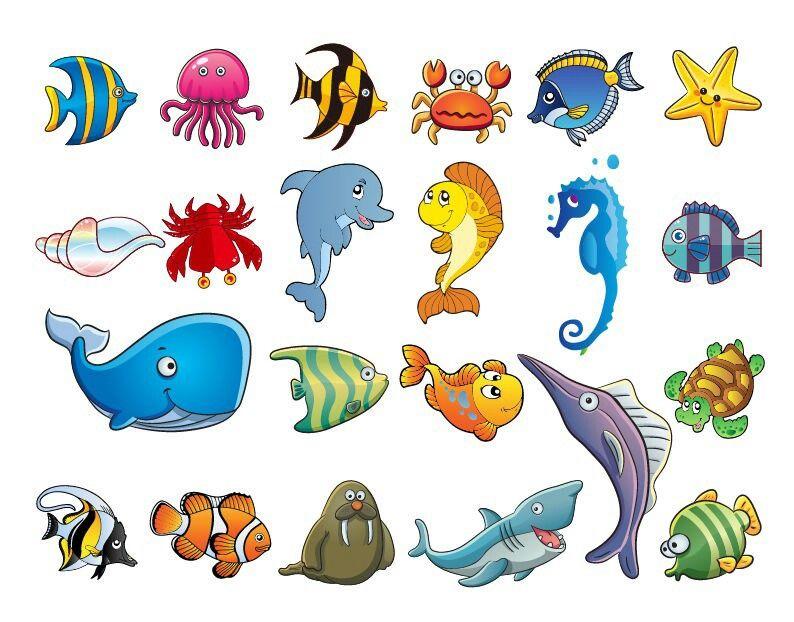 Pin By Khara Whitead On Images Cartoon Sea Animals Cartoon Animals Marine Animals