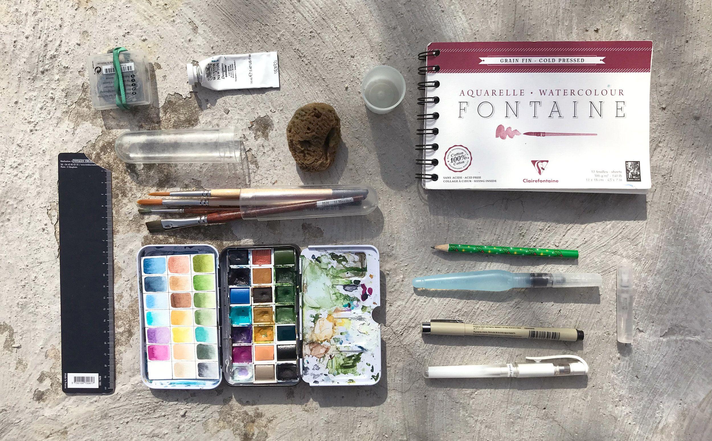Peindre En Plein Air Quel Materiel Utiliser En 2020 Palette