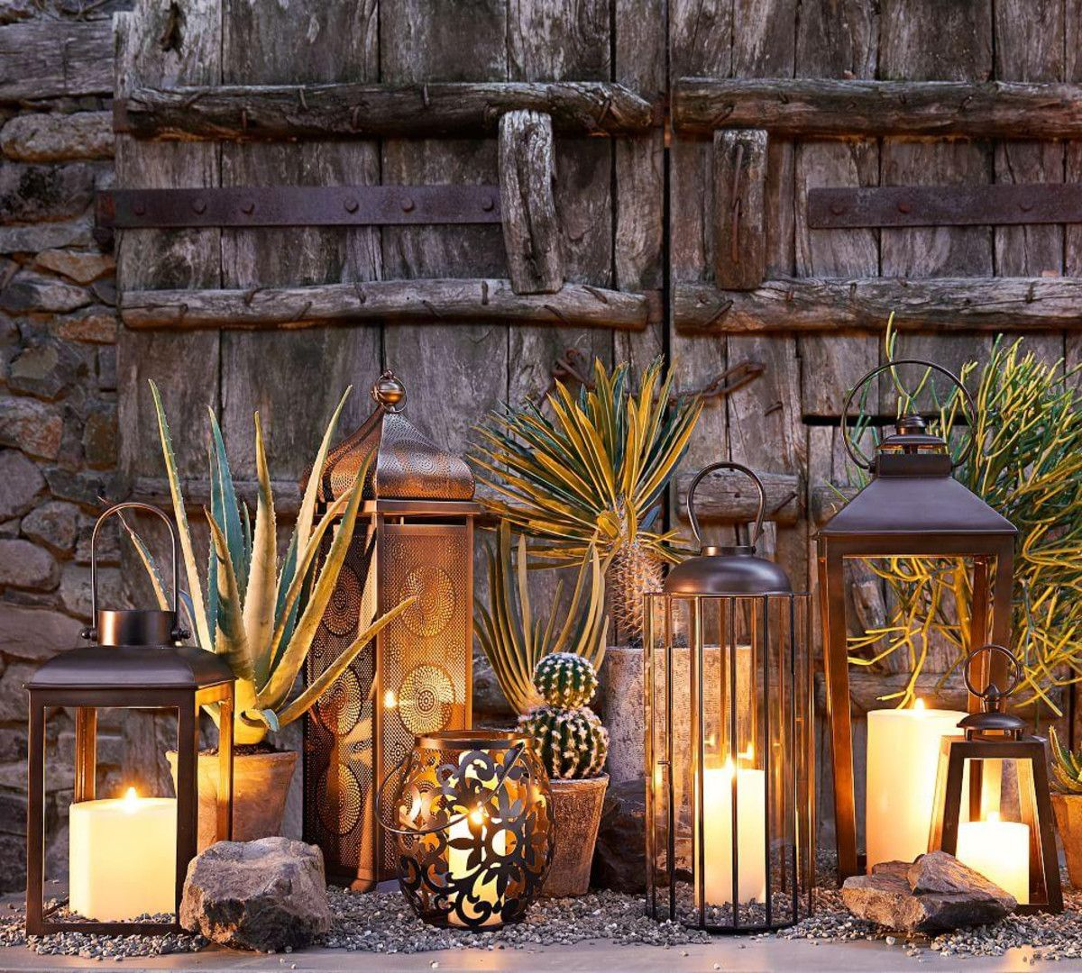 Smith Eclectic Lantern Bronze In 2020 Candles In