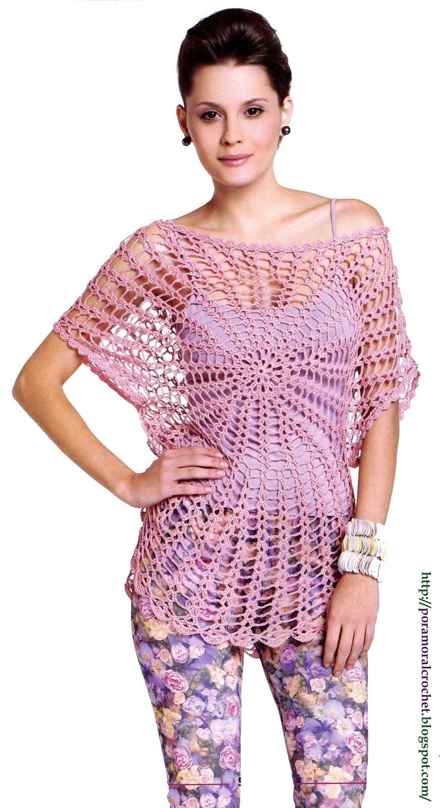 Pin de Sjmahant en Crochet Tops | Pinterest | Trenza, Tejido y Verano