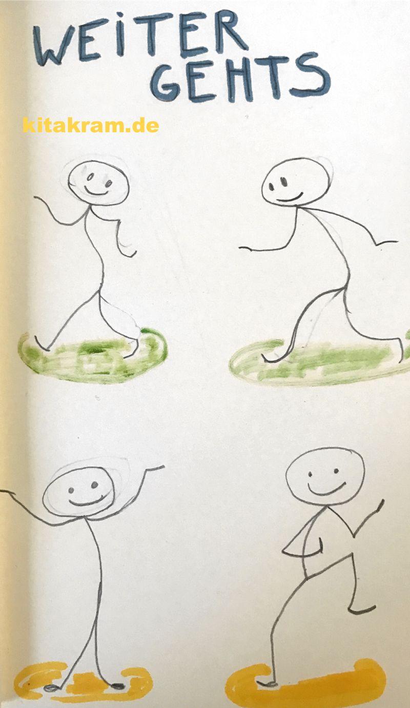 Kennenlernen zeichnen