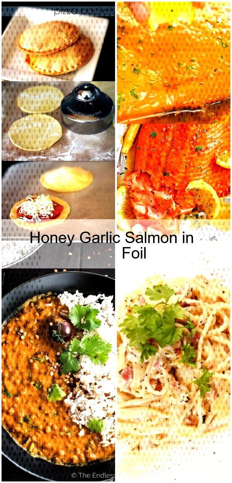Honey Garlic Salmon in Foil Honey Garlic Salmon in Foil,