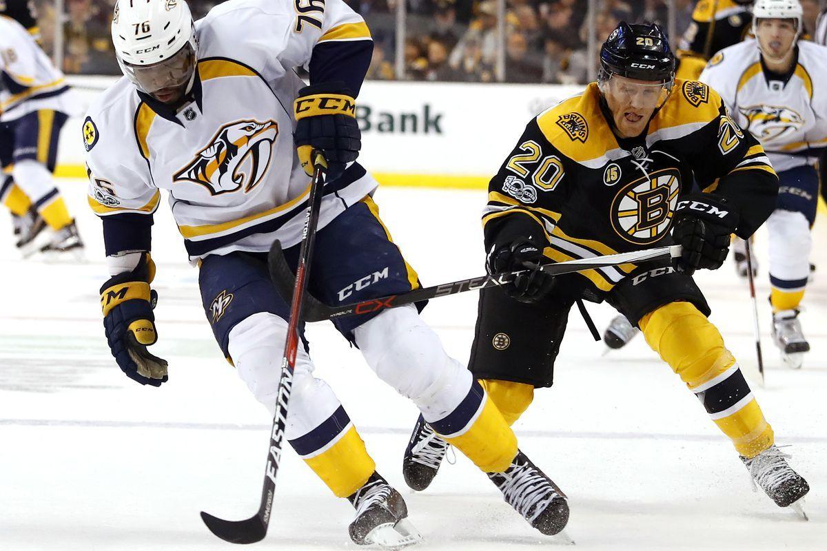 Boston Bruins vs Nashville Predators 12/4/2017 Odds, Picks