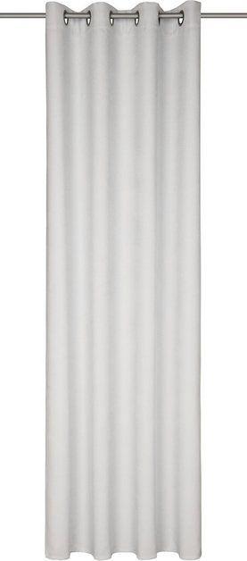 Vorhang »Münster«, , Ösen (1 Stück), Ösenschal