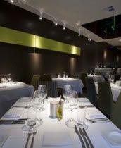 Jackson's Restaurant Highgate, WA featuring white Masson For Light 'Tullyspot' spotlights on track.  http://www.massonforlight.com.au/projects/hospitality/jacksons-restaurant/