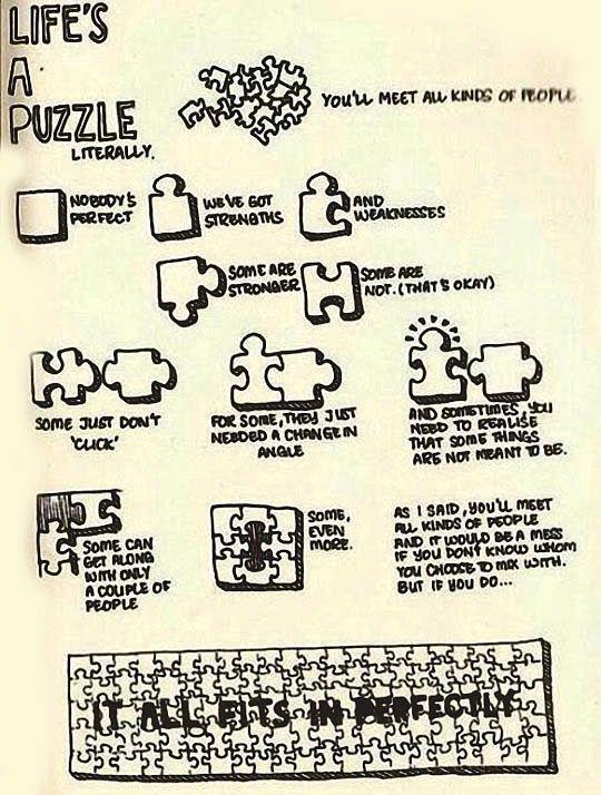 Puzzle Quotes About Life : puzzle, quotes, about, Life's, Puzzle…, Puzzle, Quotes,, Words