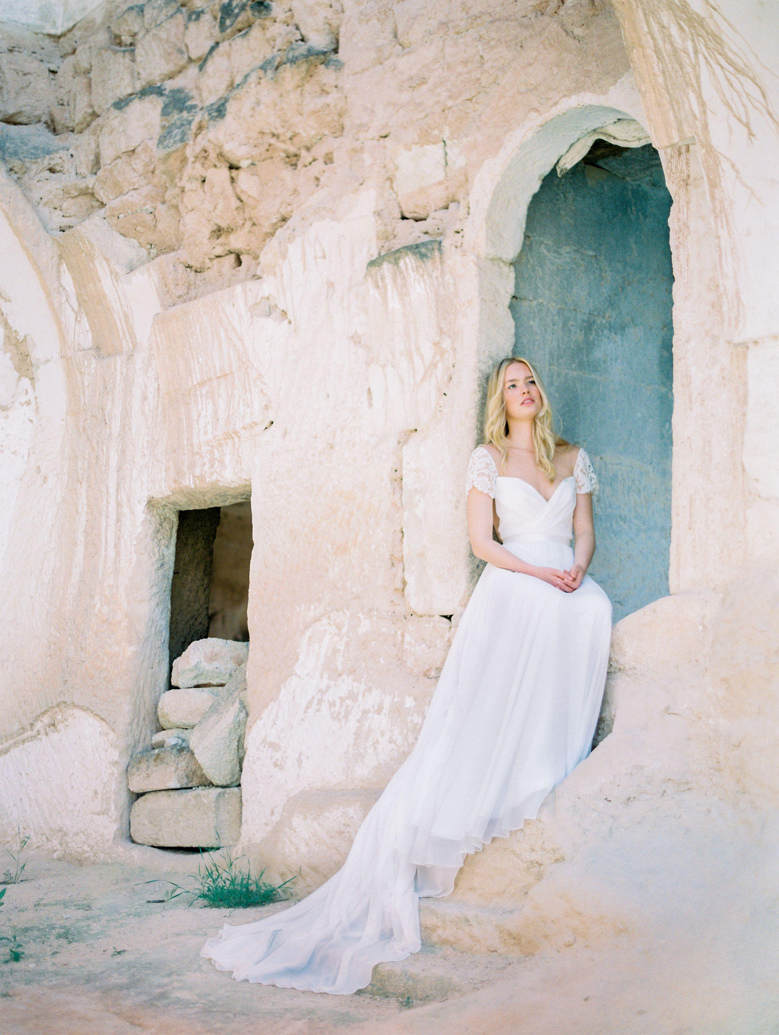 d84b0ed464b1 Truvelle | Mary | Try it on at Sash & Bustle #capsleeve  #illusionweddingdress #openback #romanticweddinggown #aline  #canadianbridaldesigner #romanticbride ...