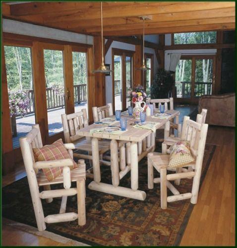 RN21C - Harvest Family Dining Room Table lake house decor