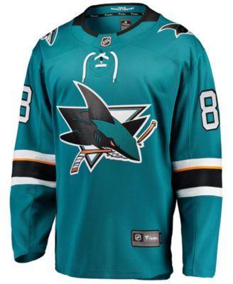 timeless design 89a1b 8be93 Men's Brent Burns San Jose Sharks Breakaway Player Jersey ...