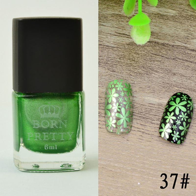 Buy 1 Bottle 6ml Born Pretty Stamping Polish Nail Art Varnish Nail