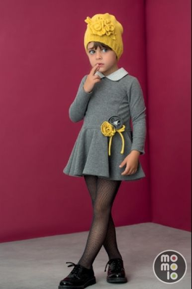 MOMOLO | fashion kids |  Dresses Aletta, Bonnet Aletta, Tights Aletta, Bluchers Aletta, girl, 20150916172840