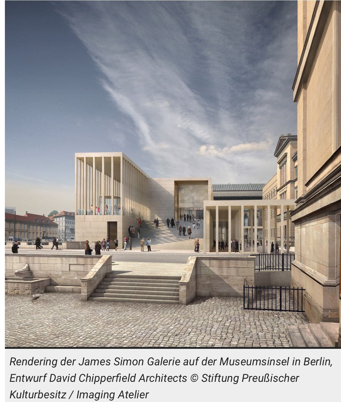 Berlin Museum Architecture David Chipperfield Architects Architecture