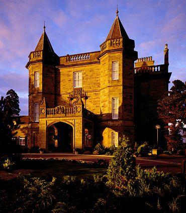 Dalmahoy Marriott Hotel Country Club In Edinburgh Scotland