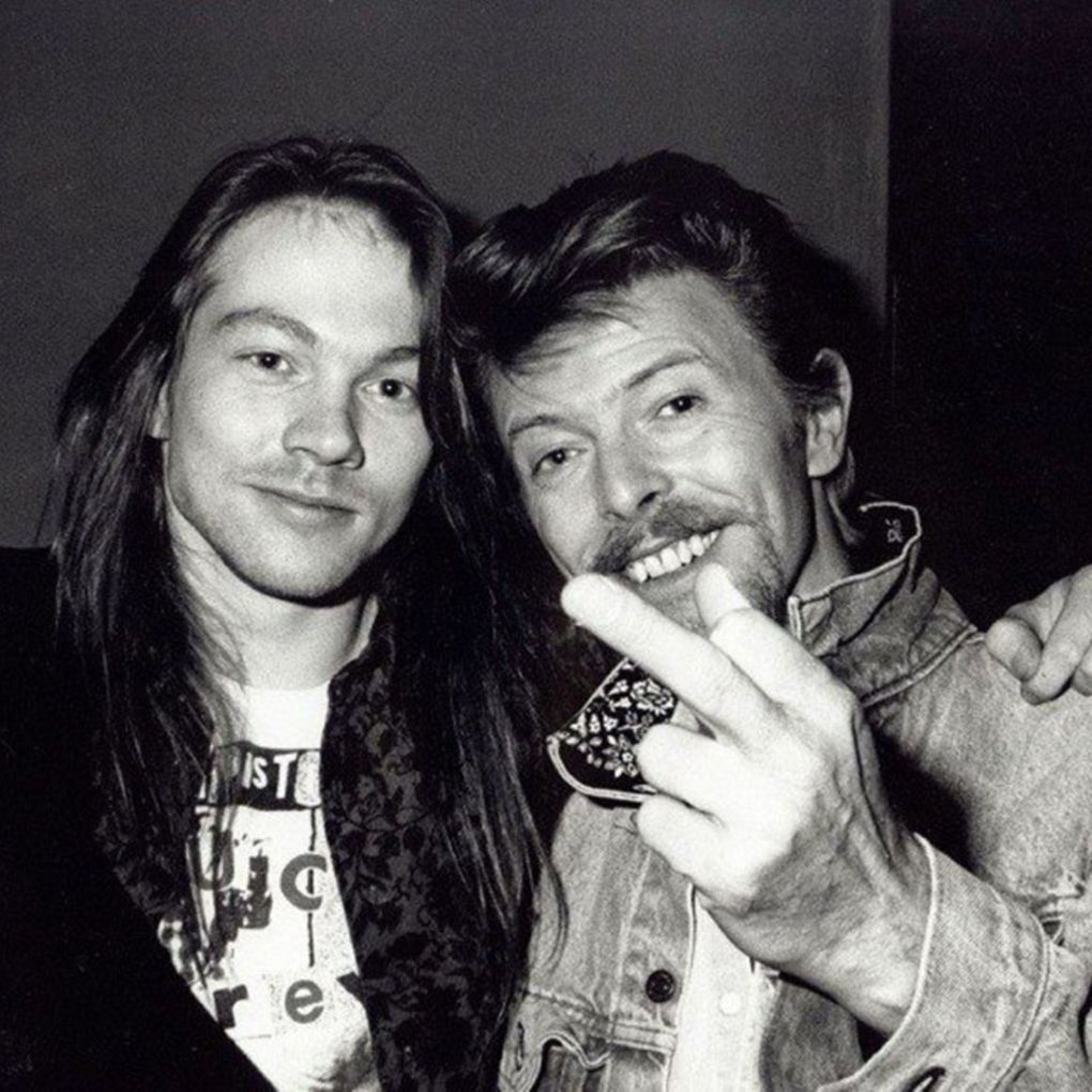 Guns N Roses # Axl Rose # David Bowie | Axl Rose | Pinterest | Axl ...