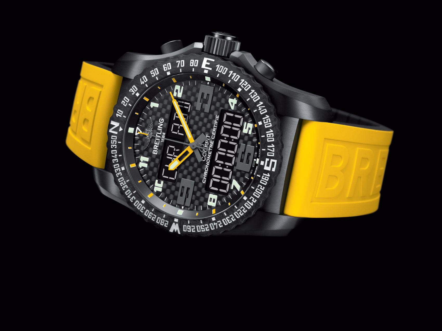 Cockpit B50 Night Mission Boutique Edition Breitling Instruments