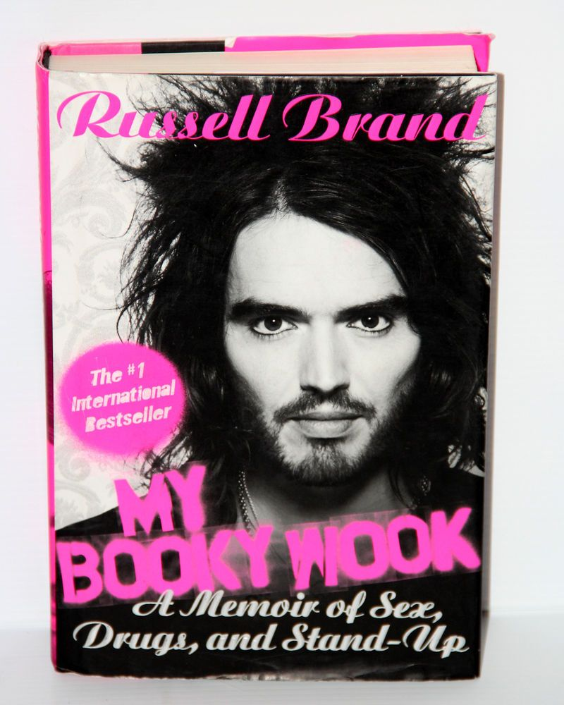 My Booky Wook : A Memoir of Sex, Drugs, and Stand-Up by Russell Brand 2009 HBDJ