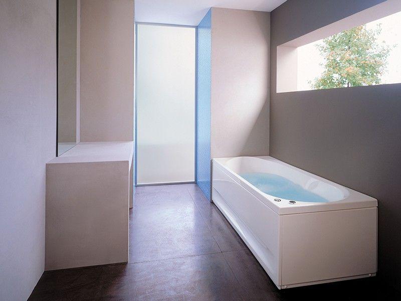 Vasche Da Bagno Angolari Iperceramica : Jacuzzi® brooklyn vasca idro 180x80 sx pan fr lat iperceramica