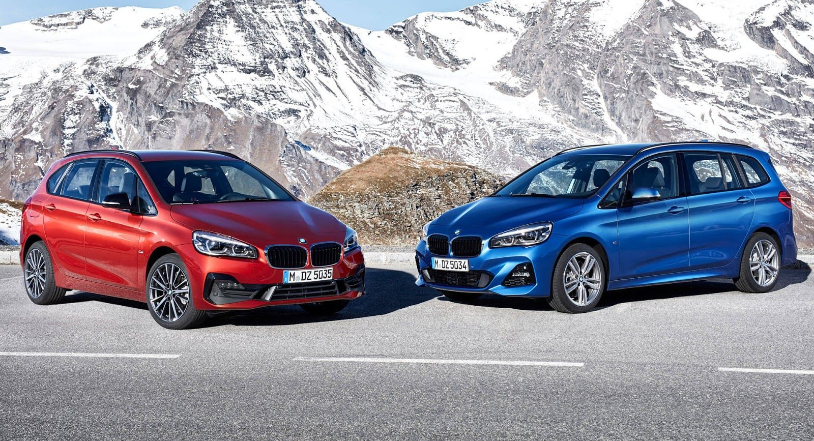 Facelifted Bmw 2 Series Active And Gran Tourer Unveiled Can You Tell What S Different Bmw Bmw 2 Bmw Series