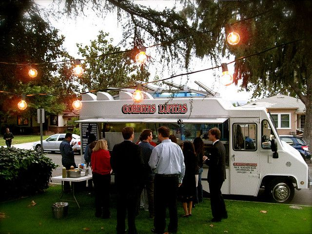 Have Some Taco Trucks Would Be Cute If They Could Actually Park Inside The Venue But I Doubt It