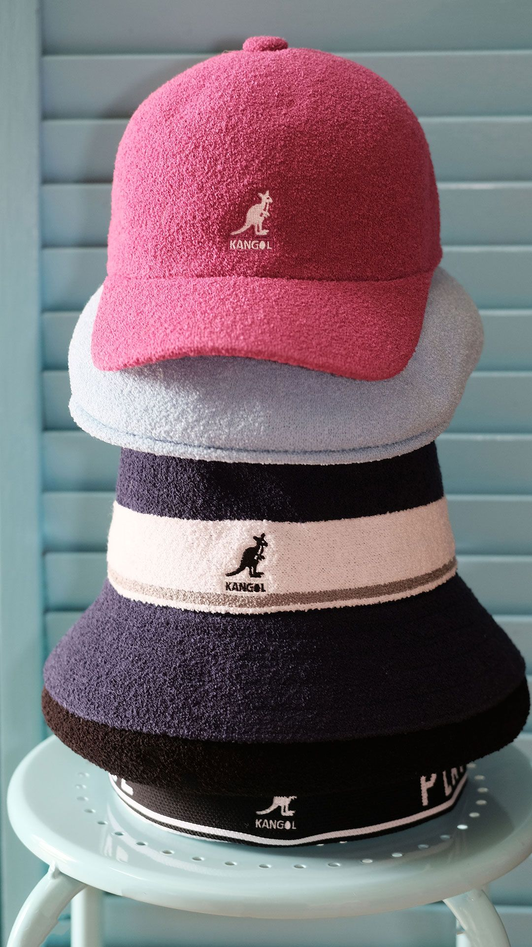 3b24db250 Pictured: #Kangol : Bermuda Stripe Beret, Bermuda Stripe Bucket ...