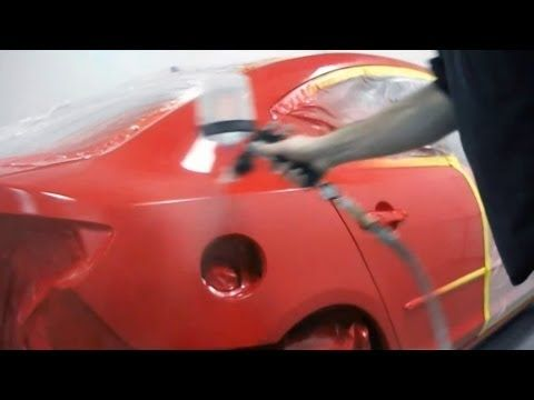 How to paint your car yourself auto body repair part 2 of 2 how to paint your car yourself auto body repair part 2 of 2 youtube solutioingenieria Images