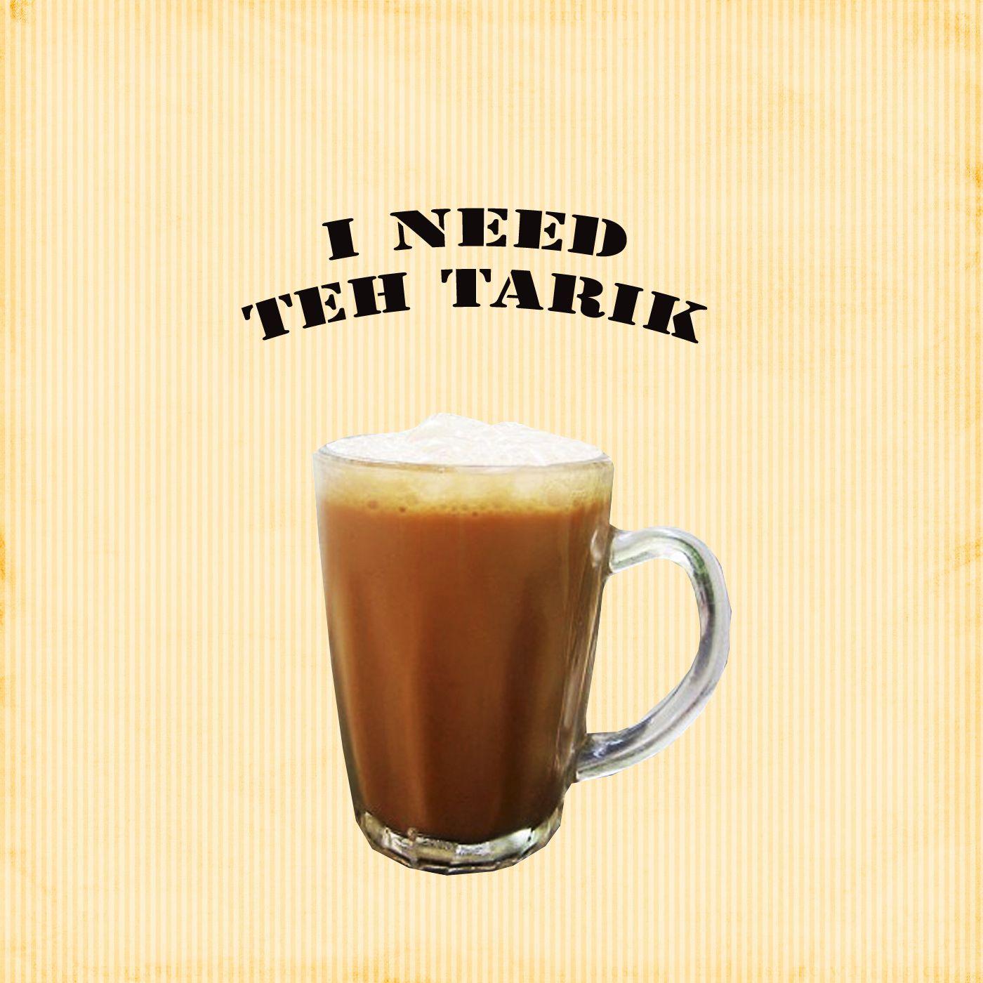 I Need Teh Tarik Singapore Food Beer Glasses Glassware