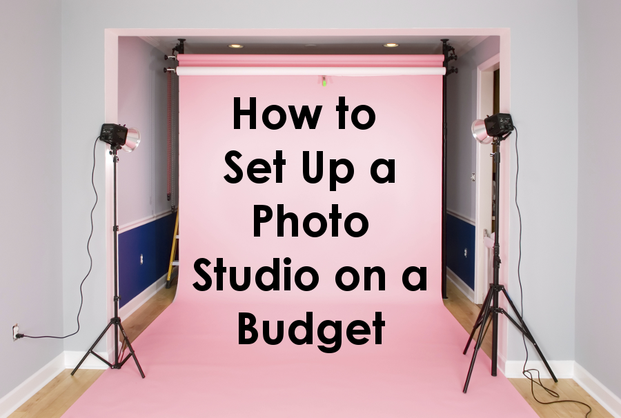 How To Set Up A Photo Studio On A Budget Backdrop Express