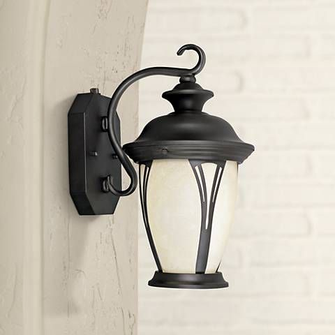 westchester 12 3 4 high dusk to dawn outdoor wall light outdoor