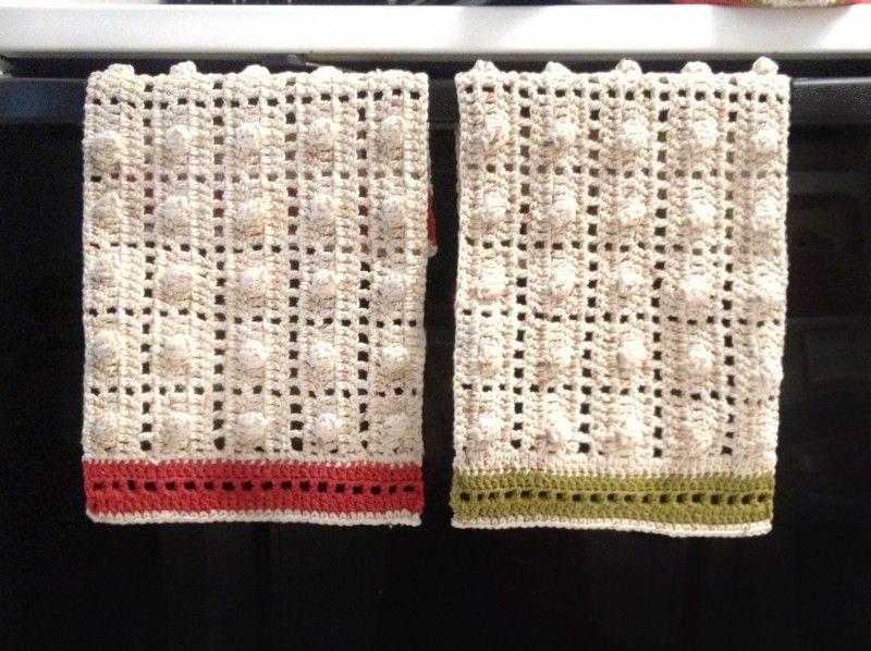 Kelsey Crochet Kitchen Towels | Crochet | Pinterest | Agarraderas ...