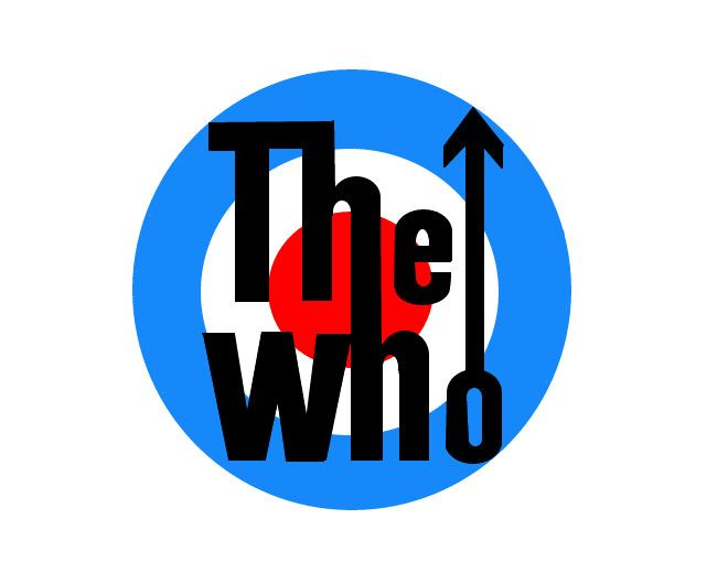 image result for the who logo you can dance while your knowledge rh pinterest com the band logos the tide band logo