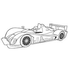 Check Out Our Collection Of 10 Free Printable Race Car Coloring Pages For Kids