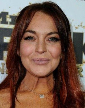 Lindsay Lohan Coke Bloat