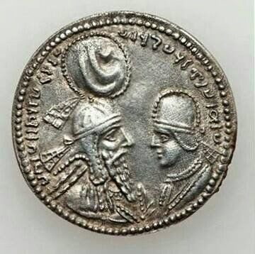 Ardashir I or Ardeshir I (Middle Persian:ArdashirPahlaviName.png, New Persian: اردشیر), also known as Ardashir the Unifier[3] (180–242 AD), was the founder of the Sasanian Empire.and Shapur I(شاپور يكم) IranologySociety.