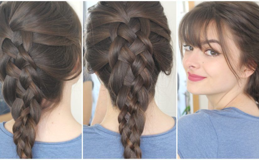 How To Do A Five Strand Braid On Yourself Tutorial