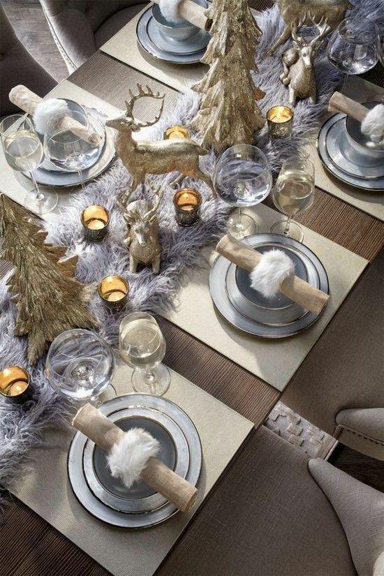 40 Ideen Fur Weihnachtliche Tischdeko Weihnachtsvorbereitungen