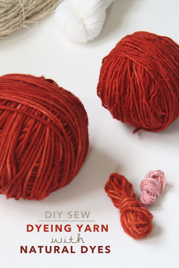 Diy Sew Dyeing Yarn With Natural Dyes Oh My Drifter Yarn Inspiration Yarn Crafts Fibre Fabric