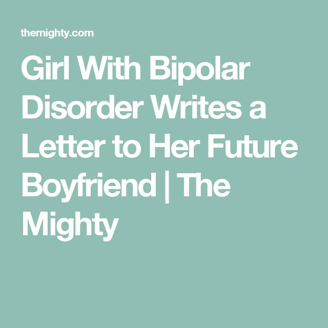 Dating a bipolar woman