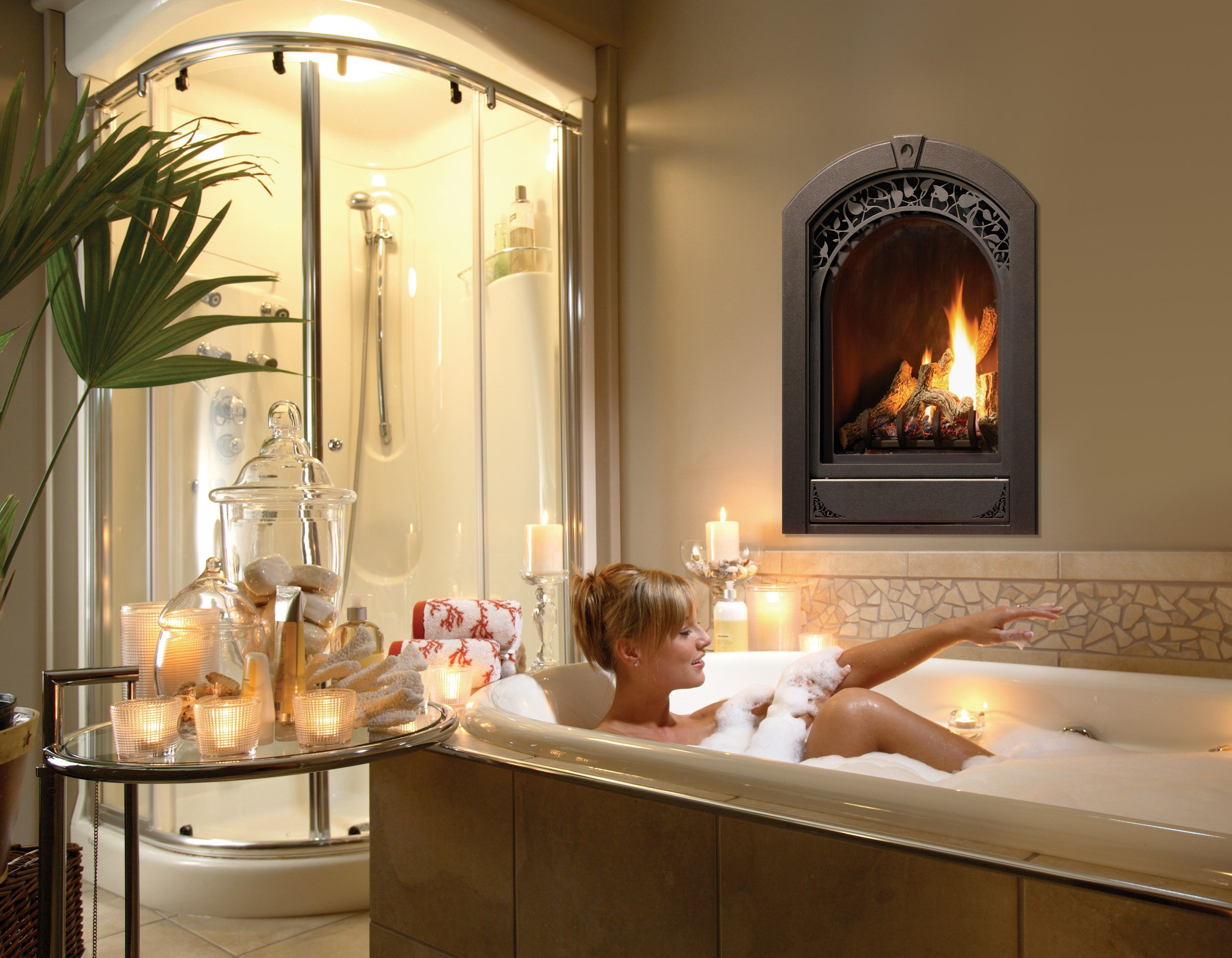 Marquis Serenity Gas Fireplace: The Serenity from Marquis features a ...