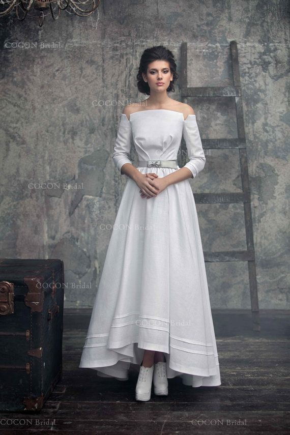 Country Line Wedding Gown Dream Dress Rustic Vintage