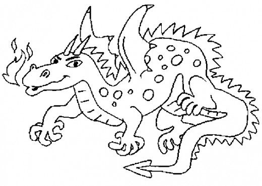 Dragon Printable Coloring Pages | Coloring pages ...