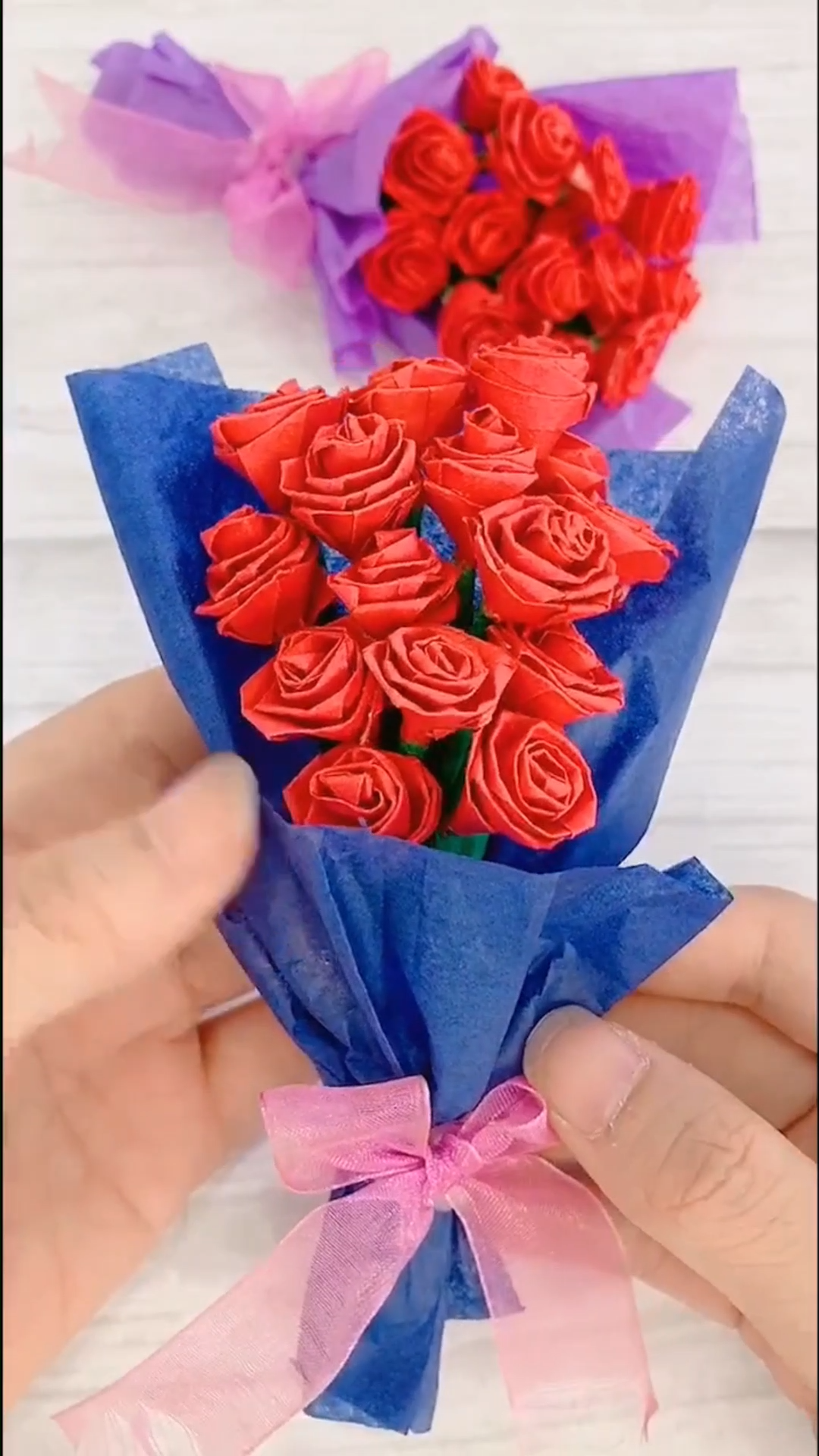 DIY Paper Flower Zeugen Sie Papier Rose Bukett, #Bukett #DIY #Flower #Paper #Papier #Rose #Sie #zeugen, #DiyAbschnitt, Diy Abschnitt,