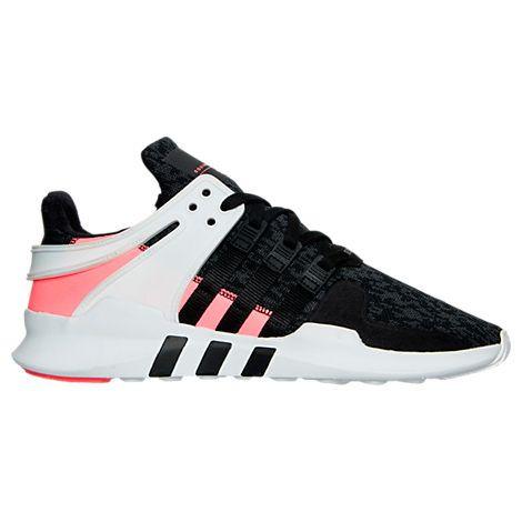 Mens adidas EQT Support ADV Casual Shoes Black Turbo BB1302