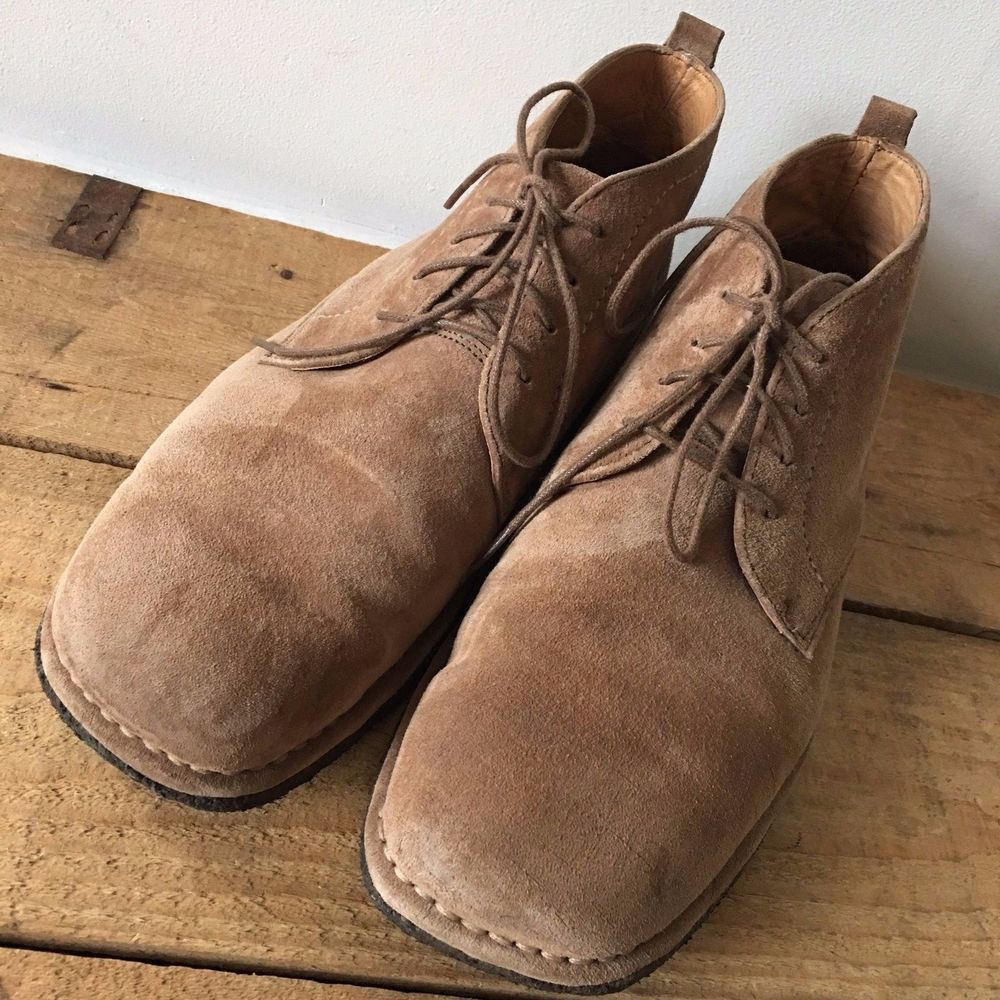 Uk Size 8 Mens Hush Puppies Beige Ankle Lace Up Desert Boots Hushpuppies Ankleboot Casual Mens Hush Puppies Desert Boots Hush Puppies Shoes