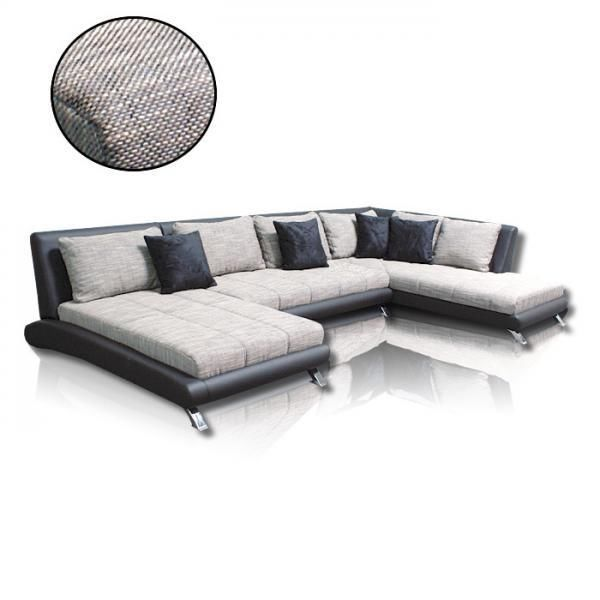 sofa couchgarnitur ecksofa sofagarnitur sofa ontario u wohnlandschaft wohnideebilder gmbh. Black Bedroom Furniture Sets. Home Design Ideas