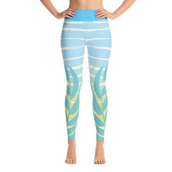 Blue Breeze Yoga Leggings